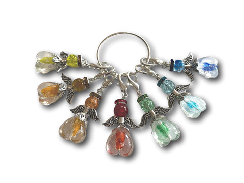 Angelical M3 - #030 Set of 7 Stitch Markers