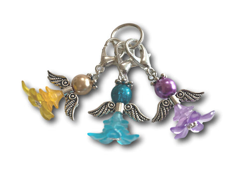 Angelical M5 - #004 Set of 3 Stitch Markers