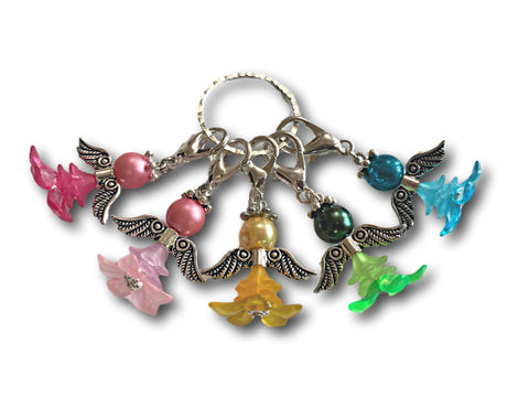 Angelical M5 - #003 Set of 5 Stitch Markers