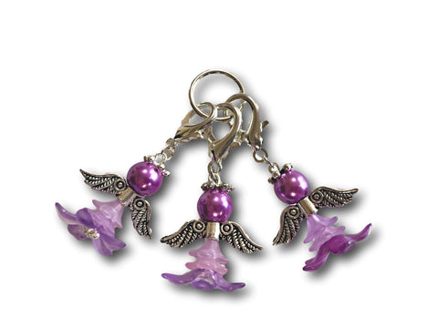 Angelical M5 - #005 Set of 3 Stitch Markers - Bonita Patterns