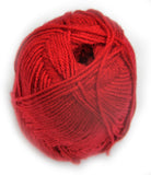 Bonita Yarns - Dream Baby Solids - Dark Red - Bonita Patterns