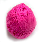 Bonita Yarns - Baby Cloud Solids - Electric Pink - Bonita Patterns