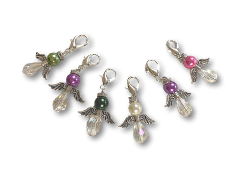 Angelical CA Crystal - #010 Set of 6 Stitch Markers