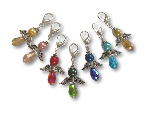 Angelical  Crystal CA - #011 Set of 7 Stitch Markers