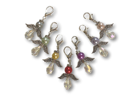 Angelical CA Crystal - #016 Set of 7 Stitch Markers
