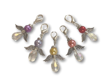 Angelical CA Crystal - #021 Set of 5 Stitch Markers
