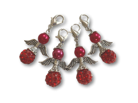 Angelical CB Crystal - #021 Set of 4 Stitch Markers
