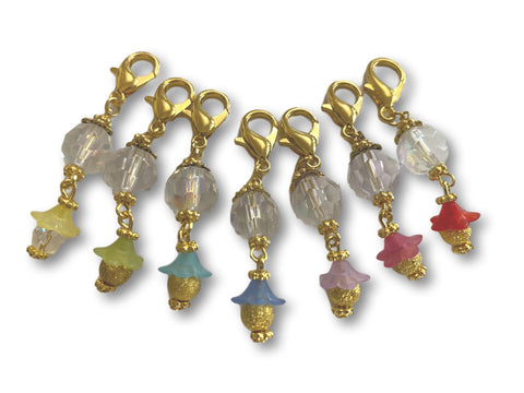 Crystal CF - #005 Set of 7 Stitch Markers