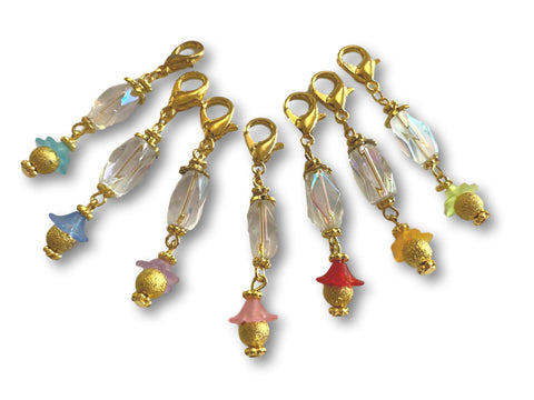Crystal CF - #013 Set of 7 Stitch Markers
