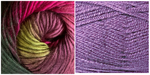 LILAC  + CALLA LILY - Embossed Natura Hat KIT