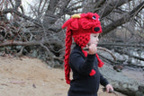 Crocodile Stitch Dragon Hat (Baby & Toddler Sizes)
