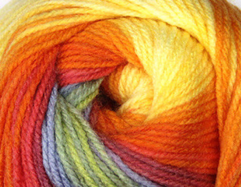 Bonita Yarns - Dream Baby - Electric Yellow Mix