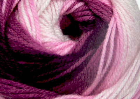 Bonita Yarns - Dream Baby - Pink Wine Degrade - Bonita Patterns