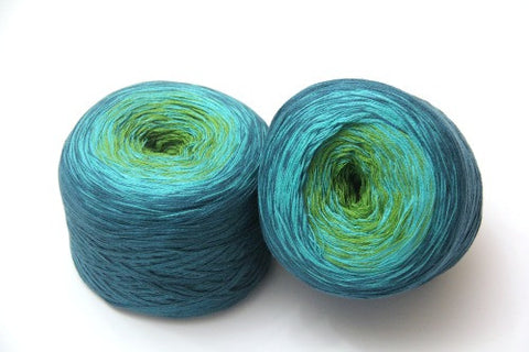Bonita Yarns - Dream Swirl - #05 - It's Not Easy Being Green - Bonita Patterns