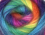 Bonita Yarns - Angora Cloud - Electric Rainbow - Bonita Patterns