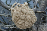 Embossed Garden Handbag Crochet Pattern - PF - Bonita Patterns