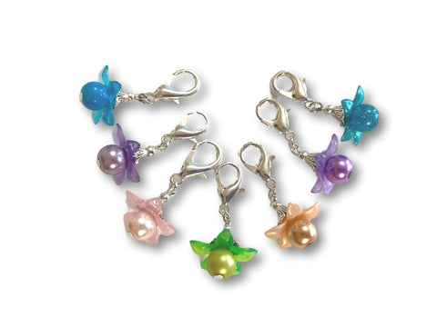 Flower F3 - #009 Set of 7 Stitch Markers