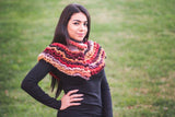 Ruffled Victorian Cowl CAL - Bonita Patterns
