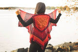 Embossed Crochet Boho Vest - Bonita Patterns