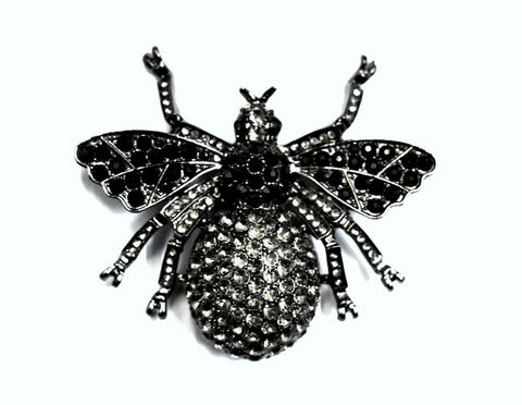 Large Bee Brooch - Bonita Patterns