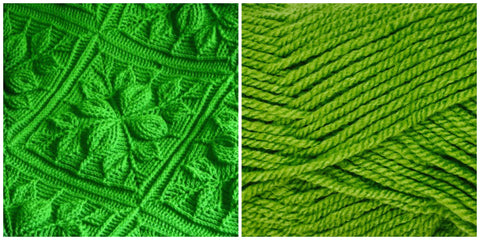 KIT LIGHT GREEN - Embossed Leaves BLANKET