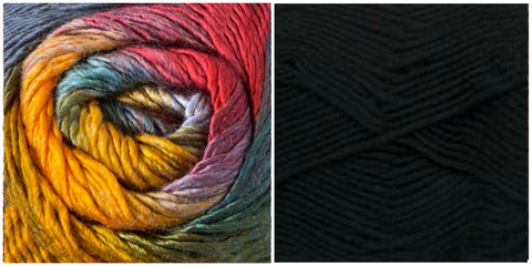 BLACK + MARIGOLD - Embossed Phoenix Scarf KIT