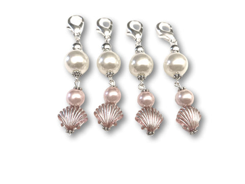 Marine S1 - Ref #032 Set of 4 stitch markers - Bonita Patterns