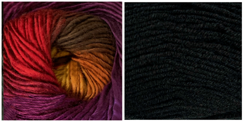 BLACK + ORCHID - Embossed Phoenix Scarf KIT