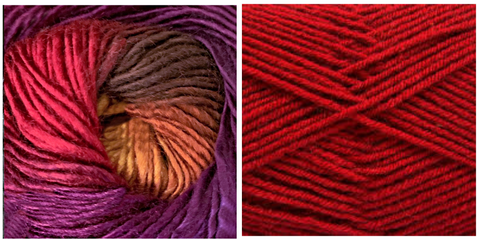 RED + ORCHID - Embossed Natura Hat KIT