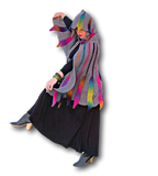Embossed Phoenix Hooded Cape Crochet Pattern - Bonita Patterns