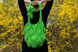 Embossed Leaves Purse - Bonita Patterns