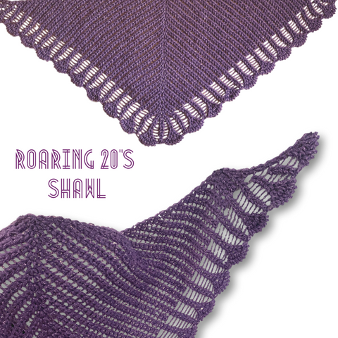 Roaring 20s Shawl - Bonita Patterns