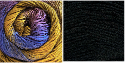 BLACK + SPLENDOR - Embossed Phoenix Scarf KIT