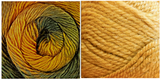 YELLOW GOLD + TERRAGON - Embossed Natura Hat KIT