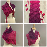 Vortex Shawl & Scarflette DUO - Bonita Patterns