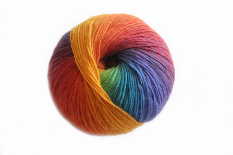 Bonita Yarns - Kaleidoscopic - Rainbow #11 - Bonita Patterns