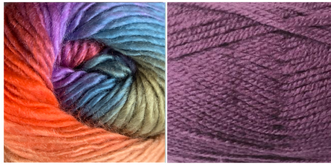 LAVENDER + ZINNIA - Embossed Fall Pocket Shawl KIT