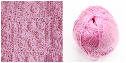 KIT PINK - Embossed Garden Baby Blanket