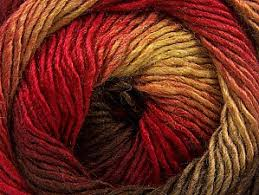 NEW Bonita Yarns - Merino Dream - Flame Shades - Bonita Patterns