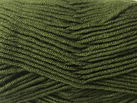 Bonita Yarns - Solids Fluffy Dream -  Olive - Bonita Patterns