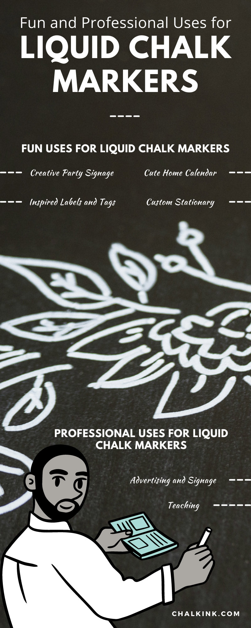 Fun and Professional Uses for Liquid Chalk Markers