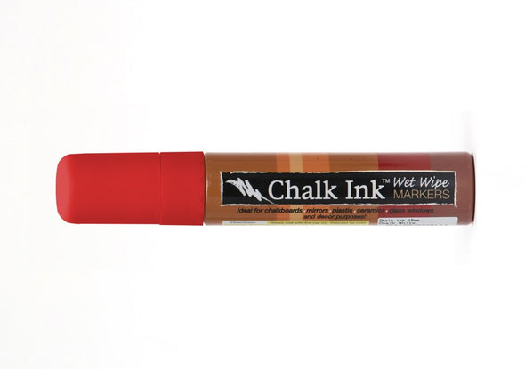 Image of the product 15mm Chalk Ink Clown Nose Red Wet Wipe Marker