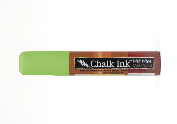 Image of the product 15mm Chalk Ink Eco Green Wet Wipe Marker