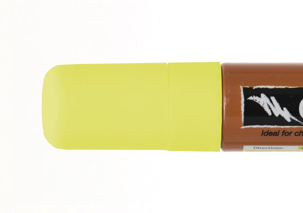 Image of the product 15mm Chalk Ink Fluorescent Firefly Yellow Wet Wipe