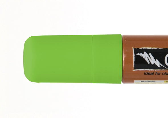 Image of the product 15mm Chalk Ink Fluorescent Lightning Green Wet Wipe Marker