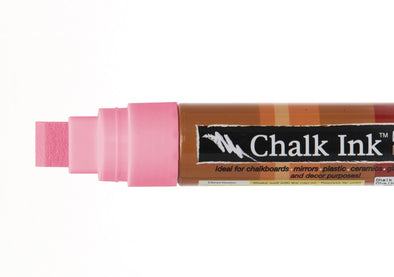 Image of the product 15mm Chalk Ink Fluorescent Pink Lemonade Wet Wipe Marker