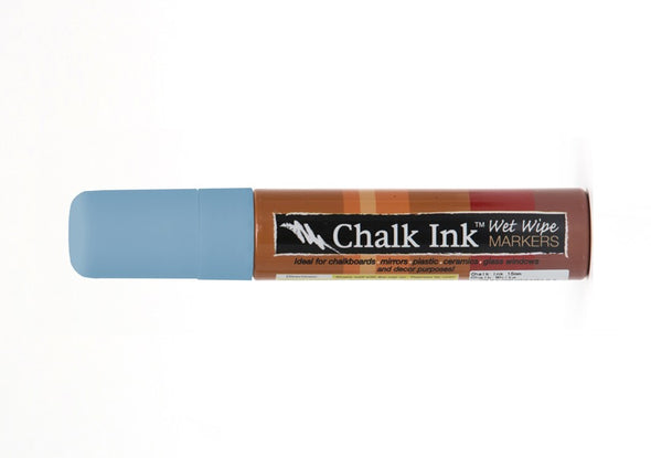 Image of the product 15mm Chalk Ink Granny Bird Blue Wet Wipe Marker