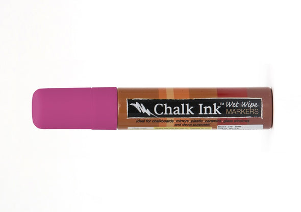 Image of the product 15mm Chalk Ink Showgirl Wet Wipe Marker