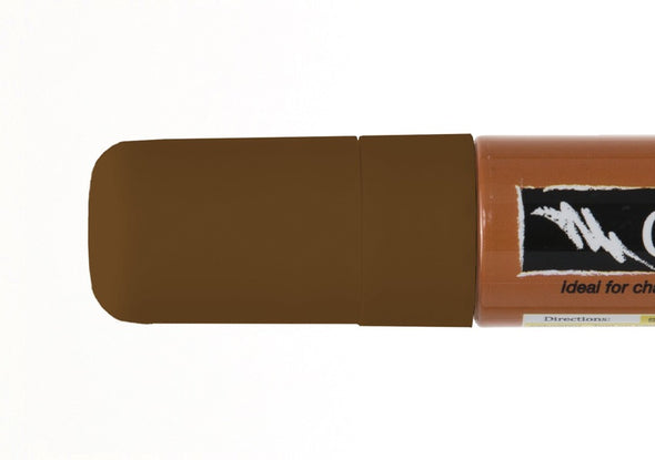 Image of the product 15mm Chalk Ink Teddy Bear Brown Wet Wipe Marker