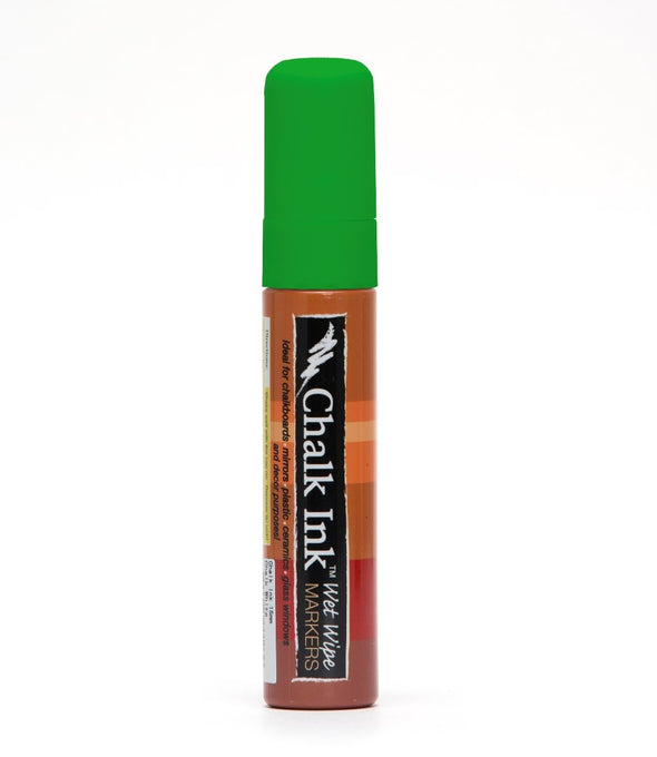 Image of the product 15mm Chalk Ink Astroturf Green Wet Wipe Marker